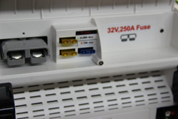 Easy Access Fuse Panel