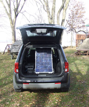 Solar Backup Generator is portable